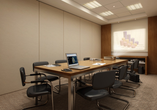 Sala de reuniao - Fachada - Ponto Norte Empresarial - 209 - 9