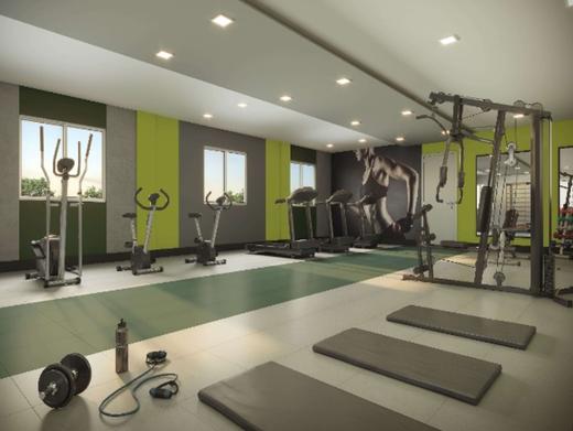Fitness - Apartamento 1 quarto à venda Irajá, Rio de Janeiro - R$ 295.223 - II-7380-16233 - 5