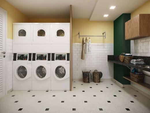 Lavanderia - Apartamento 1 quarto à venda Irajá, Rio de Janeiro - R$ 295.223 - II-7380-16233 - 9