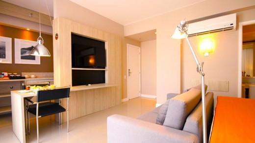 Cozinha - Fachada - Link Office Mall & Stay - Stay - 214 - 5