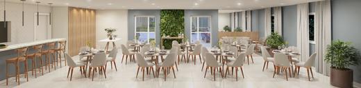 Salao de festas - Apartamento 2 quartos à venda Campo Grande, Rio de Janeiro - R$ 200.829 - II-7403-16262 - 4