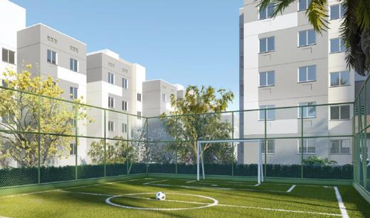 Quadra - Apartamento 2 quartos à venda Campo Grande, Rio de Janeiro - R$ 200.829 - II-7403-16262 - 8