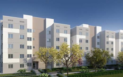 Fachada - Apartamento 2 quartos à venda Campo Grande, Rio de Janeiro - R$ 200.829 - II-7403-16262 - 1