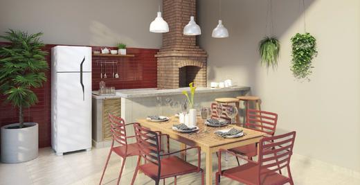 Churrasqueira - Apartamento 2 quartos à venda Campo Grande, Rio de Janeiro - R$ 200.829 - II-7403-16262 - 6