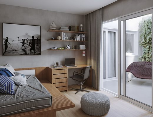 Dormitorio - Fachada - Mares Leblon - 131 - 8