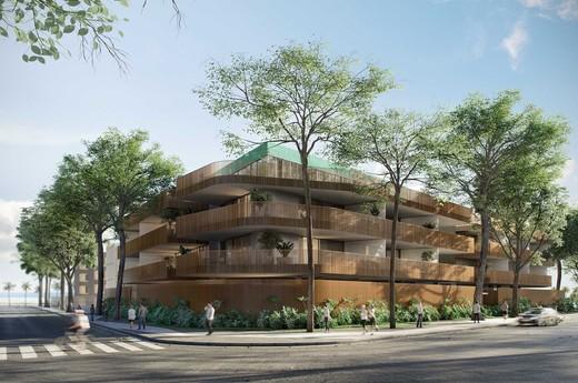 Fachada - Apartamento 2 quartos à venda Jardim Oceanico, Rio de Janeiro - R$ 1.259.053 - II-7794-16712 - 4