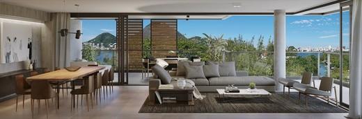 Living - Cobertura 4 quartos à venda Lagoa, Rio de Janeiro - R$ 9.415.111 - II-7823-16771 - 6