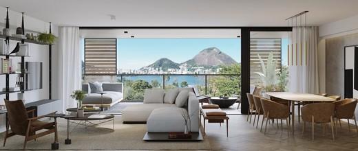 Living - Cobertura 4 quartos à venda Lagoa, Rio de Janeiro - R$ 9.415.111 - II-7823-16771 - 8