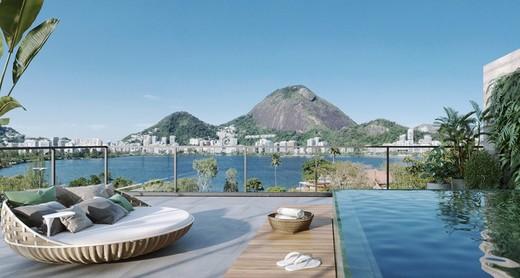 Varanda - Cobertura 4 quartos à venda Lagoa, Rio de Janeiro - R$ 9.415.111 - II-7823-16771 - 14