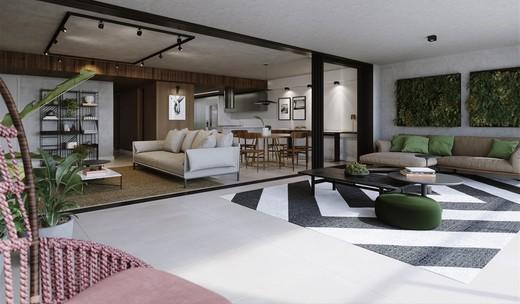 Living - Cobertura 4 quartos à venda Lagoa, Rio de Janeiro - R$ 9.415.111 - II-7823-16771 - 7