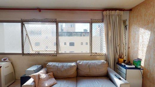 Living - Apartamento à venda Rua Girassol,Vila Madalena, Zona Oeste,São Paulo - R$ 1.134.000 - II-7853-16806 - 18