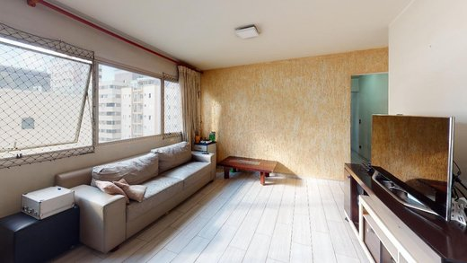 Living - Apartamento à venda Rua Girassol,Vila Madalena, Zona Oeste,São Paulo - R$ 1.134.000 - II-7853-16806 - 20