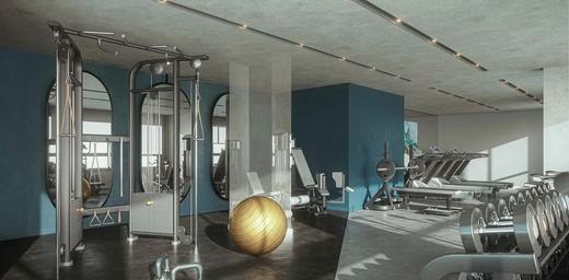 Fitness - Apartamento à venda Avenida Alberto Augusto Alves,Panamby, São Paulo - R$ 458.222 - II-7933-16893 - 4