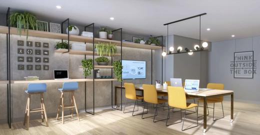 Coworking - Apartamento à venda Avenida Alberto Augusto Alves,Panamby, São Paulo - R$ 458.222 - II-7933-16893 - 6