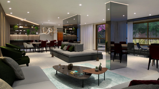Salao de festas - Apartamento à venda Avenida Alberto Augusto Alves,Panamby, São Paulo - R$ 458.222 - II-7933-16893 - 5