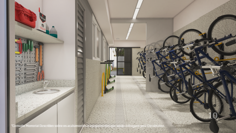 Bicicletario - Fachada - Lumini - 699 - 11