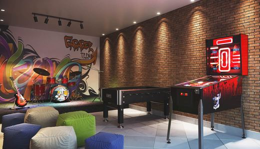 Sala de jogos - Fachada - Prana - Home & Spa - 1404 - 13
