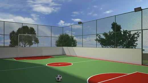 Quadra poliesportiva - Fachada - Azaleia - Parque das Flores - 702 - 7
