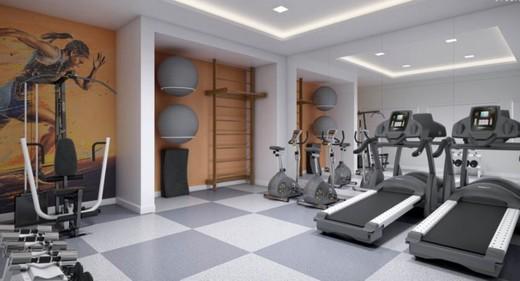Fitness - Apartamento 3 quartos à venda Tijuca, Rio de Janeiro - R$ 617.691 - II-8047-17023 - 7