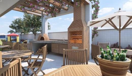 Churrasqueira - Fachada - Secret Place Residences - 229 - 15