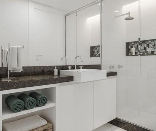 Banheiro - Fachada - Secret Place Residences - 229 - 5