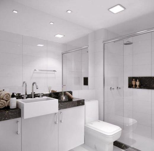 Banheiro - Fachada - Sweet Home Residences - 183 - 7