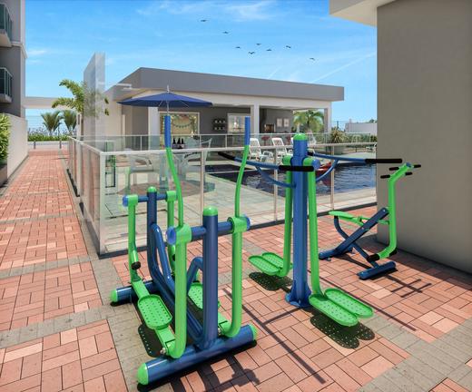 Fitness externo - Apartamento 2 quartos à venda Irajá, Rio de Janeiro - R$ 237.502 - II-8182-17200 - 25