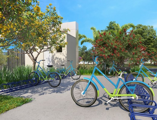 Bicicletario - Fachada - Villaggio Verona - 235 - 23