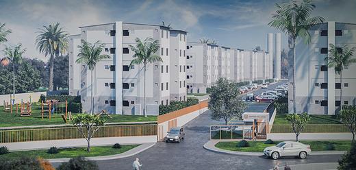 Fachada - Apartamento 2 quartos à venda Campo Grande, Rio de Janeiro - R$ 159.000 - II-8473-17502 - 1