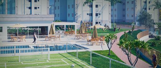 Lazer - Apartamento 2 quartos à venda Campo Grande, Rio de Janeiro - R$ 159.000 - II-8473-17502 - 5