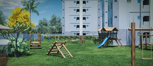 Playground - Apartamento 2 quartos à venda Campo Grande, Rio de Janeiro - R$ 159.000 - II-8473-17502 - 8