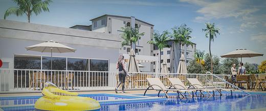 Piscina - Apartamento 2 quartos à venda Campo Grande, Rio de Janeiro - R$ 159.000 - II-8473-17502 - 9