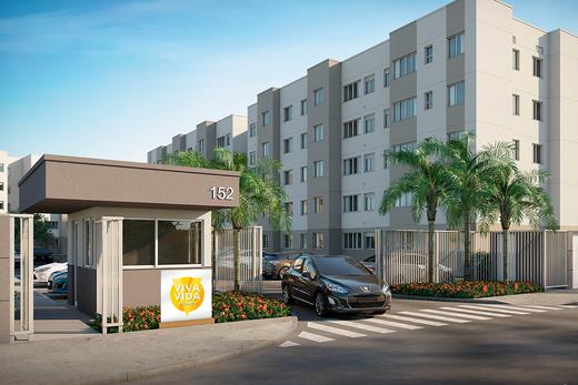 Portaria - Apartamento 2 quartos à venda Guaratiba, Rio de Janeiro - R$ 140.000 - II-8475-17509 - 3