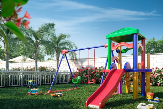 Playground - Apartamento 2 quartos à venda Guaratiba, Rio de Janeiro - R$ 140.000 - II-8475-17509 - 9