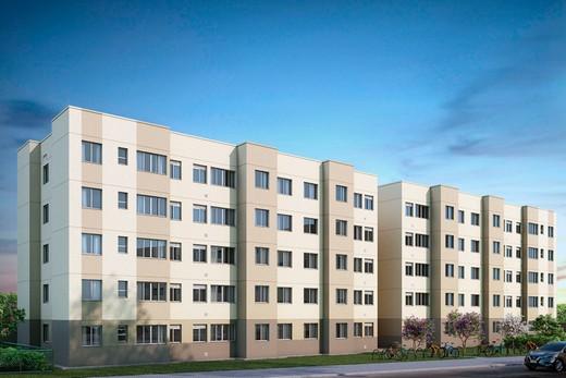 Fachada - Apartamento 2 quartos à venda Guaratiba, Rio de Janeiro - R$ 140.000 - II-8475-17509 - 1