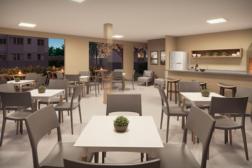 Salao de festas - Apartamento 2 quartos à venda Guaratiba, Rio de Janeiro - R$ 140.000 - II-8475-17509 - 4