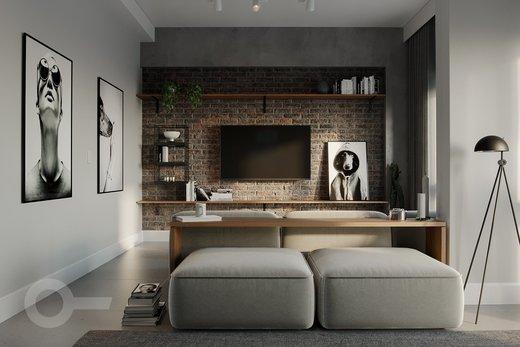 Living - Apartamento 2 quartos à venda Ipanema, Rio de Janeiro - R$ 2.920.000 - II-8217-17240 - 4