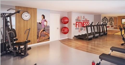 Fitness - Fachada - Condomínio Mandi - 704 - 7