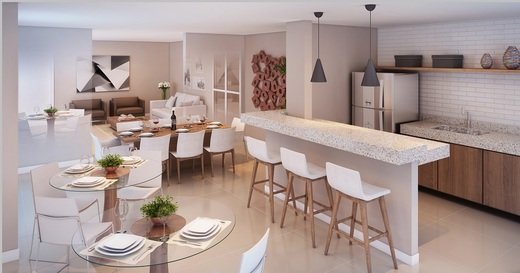 Salao de festas - Fachada - Condomínio Mandi - 704 - 8