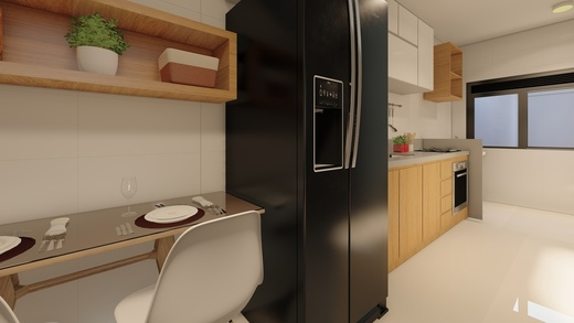 Cozinha - Fachada - Solar da Passagem - 199 - 12