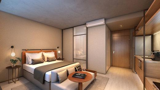 Dormitorio - Studio 1 quarto à venda Sumaré, São Paulo - R$ 440.207 - II-8707-17759 - 5