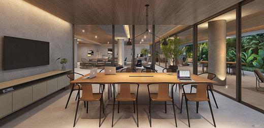 Sala de reunioes - Studio 1 quarto à venda Sumaré, São Paulo - R$ 440.207 - II-8707-17759 - 8