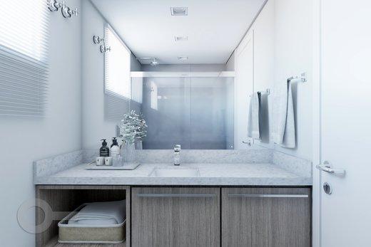 Banheiro - Apartamento à venda Rua Bergamota,Alto da Lapa, Zona Oeste,São Paulo - R$ 814.000 - II-8112-17111 - 1
