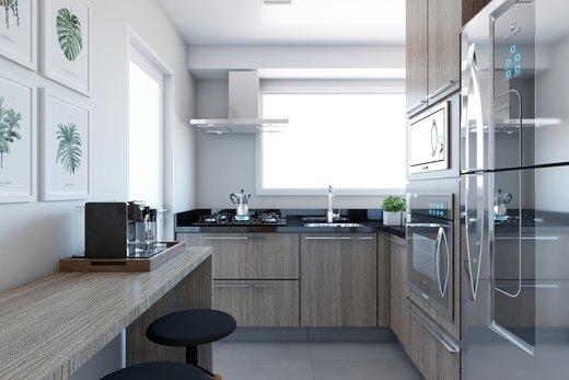 Cozinha - Apartamento à venda Rua Bergamota,Alto da Lapa, Zona Oeste,São Paulo - R$ 814.000 - II-8112-17111 - 3
