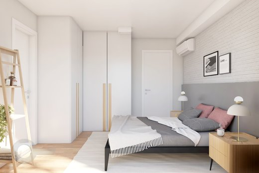 Quarto principal - Apartamento à venda Rua Bergamota,Alto da Lapa, Zona Oeste,São Paulo - R$ 814.000 - II-8112-17111 - 7
