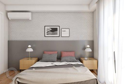 Quarto principal - Apartamento à venda Rua Bergamota,Alto da Lapa, Zona Oeste,São Paulo - R$ 814.000 - II-8112-17111 - 8