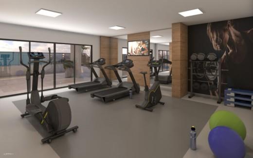 Fitness - Apartamento 3 quartos à venda Tijuca, Rio de Janeiro - R$ 686.600 - II-8805-17865 - 13