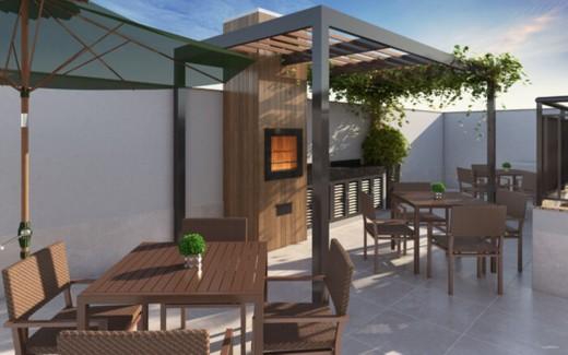 Churrasqueira - Apartamento 3 quartos à venda Tijuca, Rio de Janeiro - R$ 686.600 - II-8805-17865 - 20