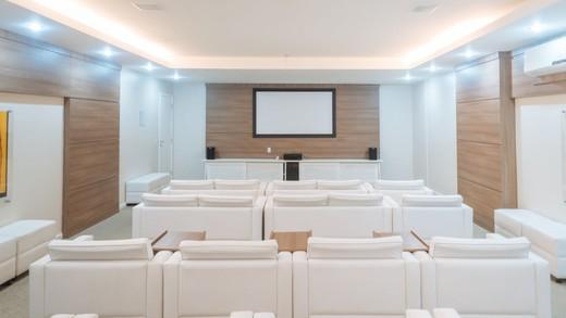 Sala de cinema - Fachada - Completto Residencial - 202 - 10
