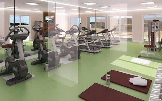 Fitness - Fachada - Expand Residences - 255 - 11